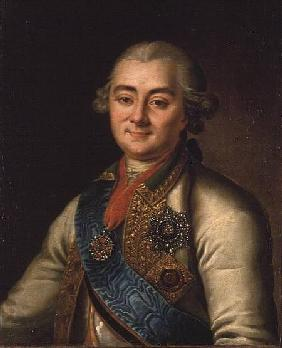 Portrait of Count Alexei Grigorievich Orlov (1737-1808)