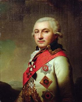 Portrait of Admiral Jose (Osip) de Ribas, after 1796