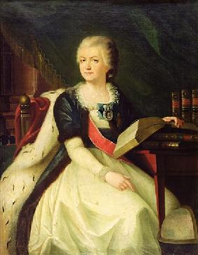 Portrait of Princess Yekaterina R. Vorontsova-Dashkova
