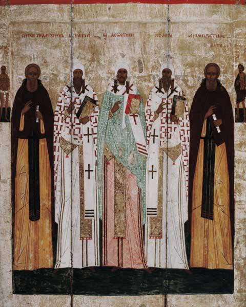 St. Sergius of Radonesh with the Saints of Rostov