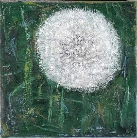 Dandelion Head, 2008 (oil on canvas)