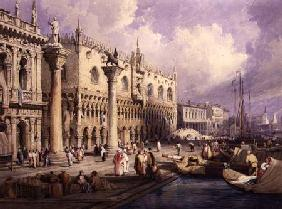 The Molo and the Doges' Palace, Venice