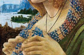 Allegorical Portrait of a Woman (Simonetta Vespucci). Detail