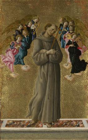 Saint Francis of Assisi with Angels