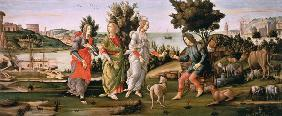S.Botticelli / Judgement of Paris / Ptg.
