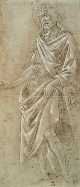 Study of St. John the Baptist