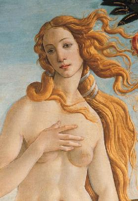 Venus, detail from The Birth of Venus c.1485