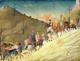 The Journey of the Magi (tempera)