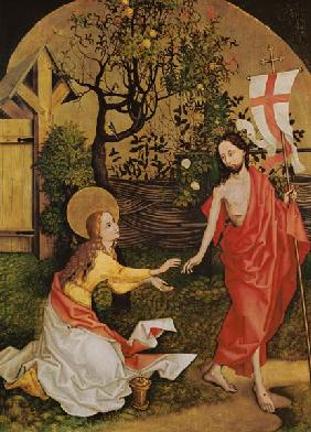 Altarpiece of the Dominicans: Noli Me Tangere, c.1470-80