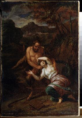 Pan and Nymph Syrinx