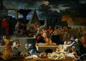 The Massacre of the Innocents (oil on canvas)