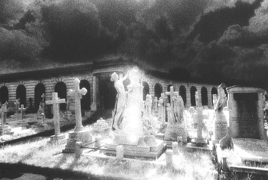 Brompton Cemetery London Simon Marsden As Art Print Or