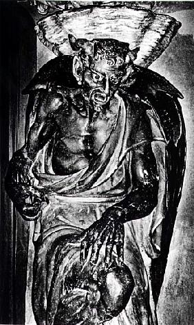 The Demon Asmodeus, from Rennes-Le-Chateau, France