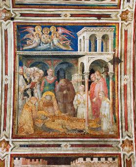 The Death of St. Martin, from the Life of St. Martin