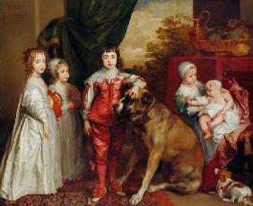 Five Eldest Children of Charles I