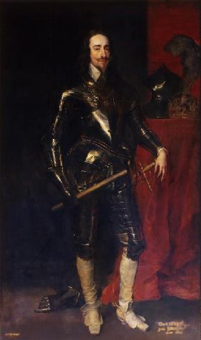 Portrait of King Charles I of England, Scotland and Ireland (1600-1649)