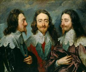 "Charles I, King of England  (1600-1649), from Three Angles (The Triple Portrait"")"