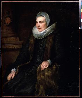 Portrait of Maria Boschaert