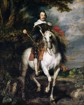 Equestrian Portrait of Don Francisco de Moncada (1586-1635)