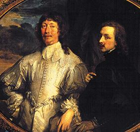 Van Dyck with Sir Endymion Porter