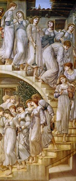 Sir Edward Burne-Jones - The Golden Stairs.