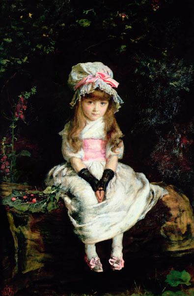 Cherry Ripe, 1879 (oil on canvas)