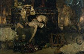 The Death of the First Born, Alma-Tadema