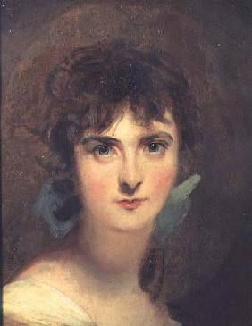 Lawrence, Sir Thomas : Portrait of Sally Siddons ...