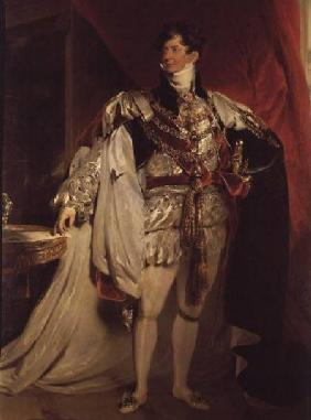 Lawrence, Sir Thomas : The Prince Regent, later G...