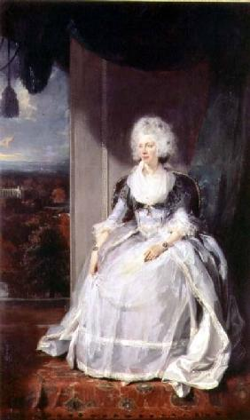 Lawrence, Sir Thomas : Queen Charlotte, 1789-90, ...