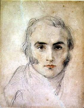 Lawrence, Sir Thomas : Self Portrait (chalk and w...