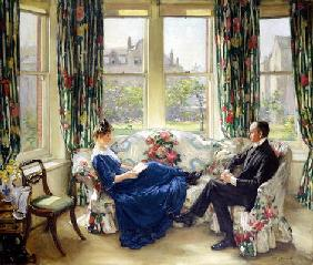 Russell, Sir Walter : The Morning Room, c.1907 (...