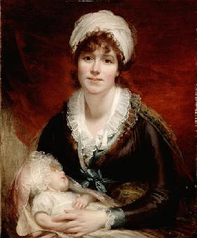 Lady Beechey and her Baby