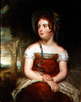 Portrait of a girl, possibly the artist's daughter