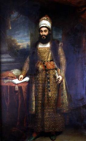 Portrait of Mirza Abul Hassan, Persian Ambassador (1785-1880) Sent by the King of Persia to England