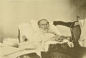 Leo Tolstoy in Gaspra on the Crimea