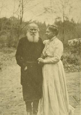 The last wedding day. Leo Tolstoy and Sophia Andreevna on September 23, 1910