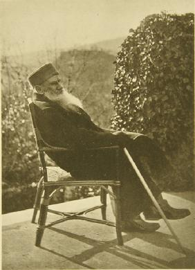 Leo Tolstoy Recovered in Gaspra on the Crimea