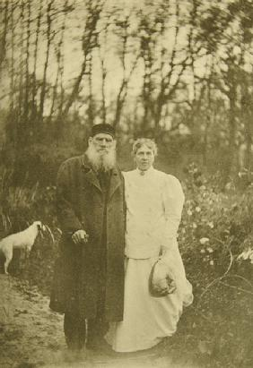 Leo Tolstoy at the One-Year Anniversary of Son's Death