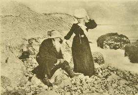 Leo Tolstoy and Sophia Andreevna at the Black Sea on the Crimea