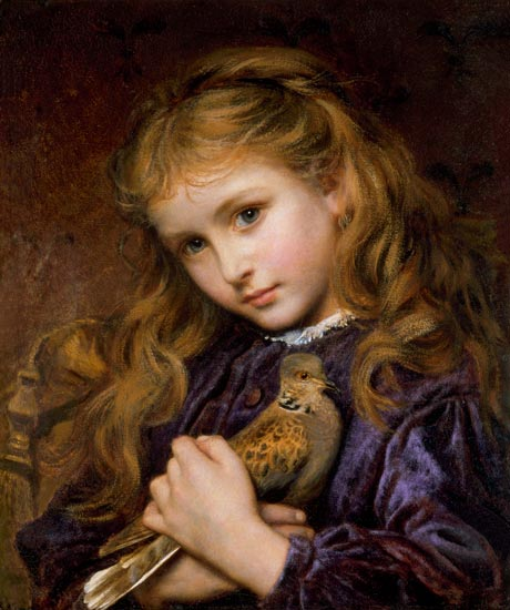 The Turtle Dove - Sophie Anderson as art print or hand ...