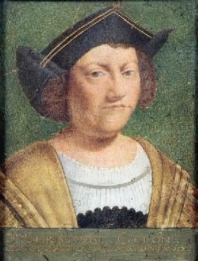 Portrait of Christopher Columbus (1451-1506)