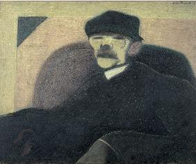 The Man with the Red Ear, Portrait of Gorky