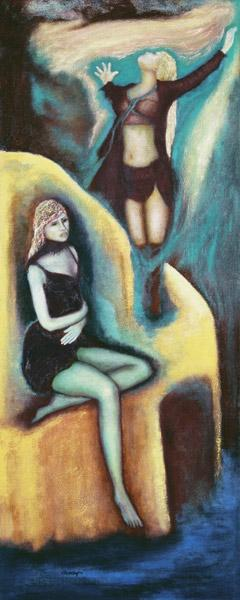 Chosen, 2004 (oil on canvas)