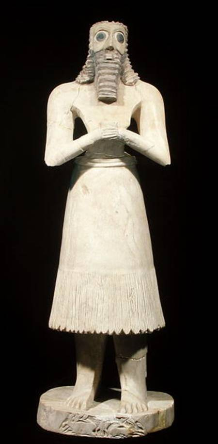 sumerian votive statues The uruk period in mesopotamia is largely synonymous with the rise of the sumerian state, the first great flourishing of the oldest cities in the world.
