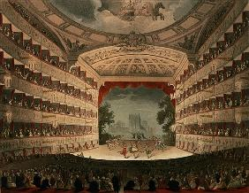 New Covent Garden Theatre, 1810, from ''Ackermann''s Microcosm of London''