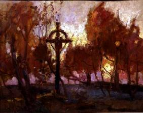 Landscape with a Cross