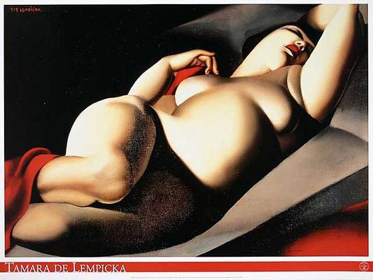 Tamara Lempicka As Art Print Or Hand Painted Oil