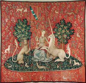 The lady with the unicorn