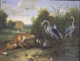 The Heron and the Fox